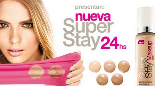 maquillaje Superstay 24 h de Maybelline
