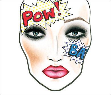 Mac Halloween Face Charts 12