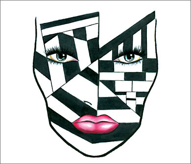 Mac Halloween Face Charts 3