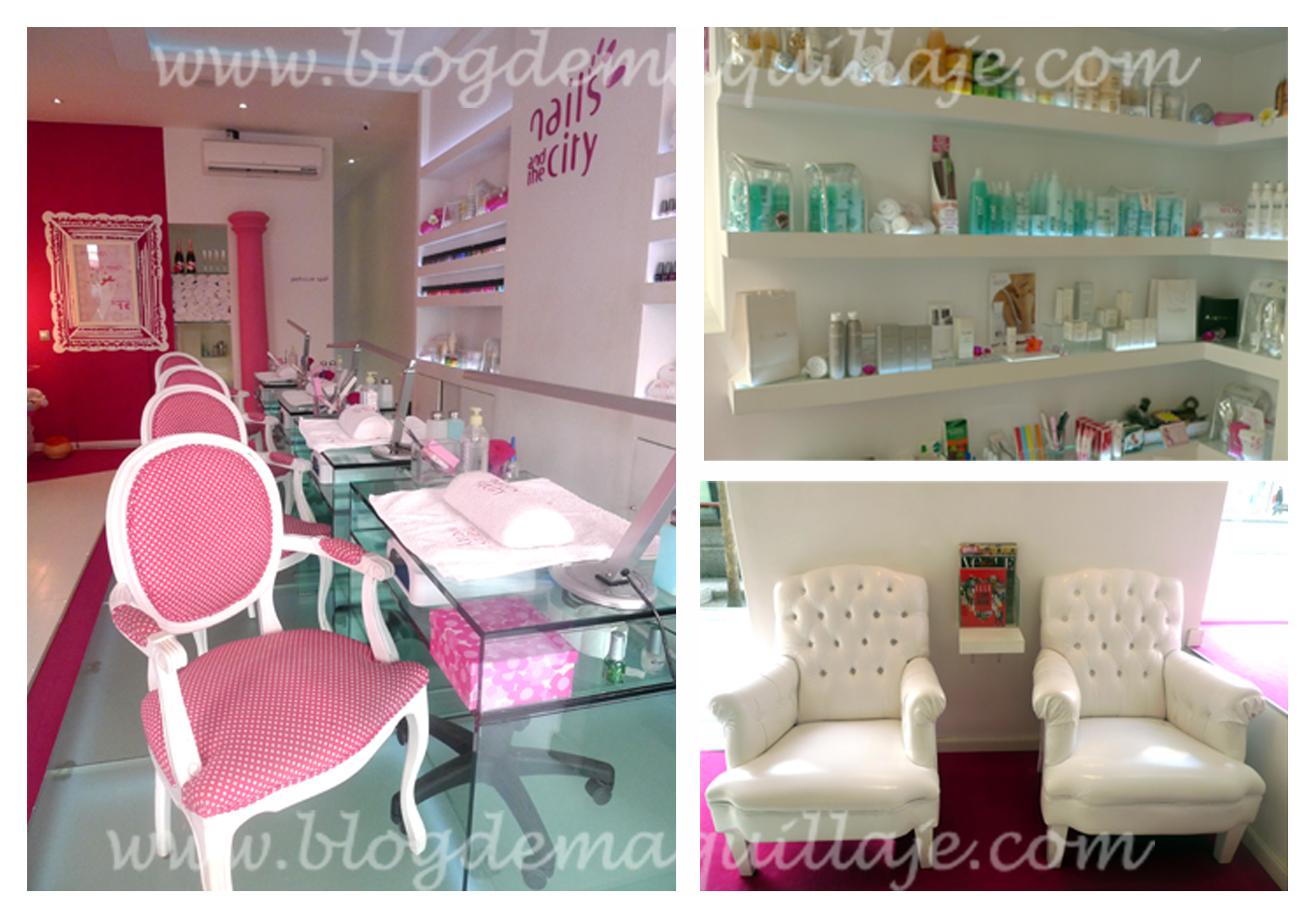 Manicura en Nails and The City -
