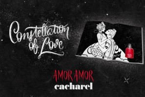 El spot Constellation of Love – Amor Amor de Cacharel