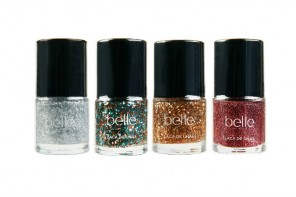 Esmaltes de uñas All That Glitters de Belle & Makeup
