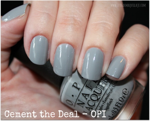 Cement the Deal - OPI 50 Sombras de Grey