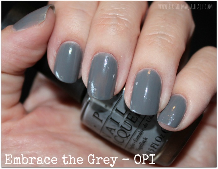 Embrace the Grey - OPI 50 Sombras de Grey