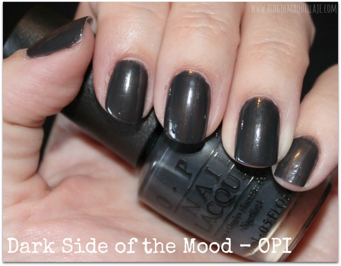 Dark Side of the Mood - OPI 50 Sombras de Grey