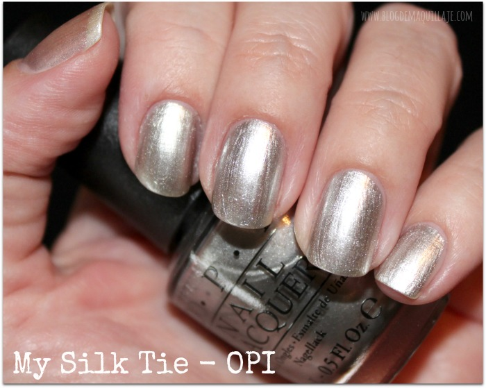 My Silk Tie - OPI 50 Shades of Grey