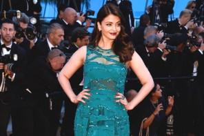 El colorido look de Aishwarya Rai en Cannes 2015