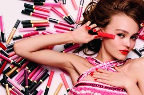 Lily-Rose Depp y los Rouge Coco Gloss de Chanel