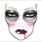 Mac Halloween Face Charts 4