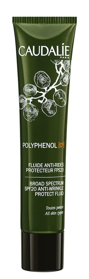 Hidratante Fluida antiarrugas Polyphenol C15 de Caudalie