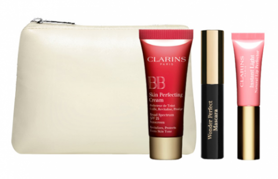 Mini kit Look Nude de Clarins