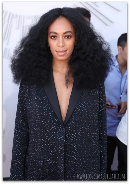 Solange Knowles en la gala de los MTV Video Awards 2014