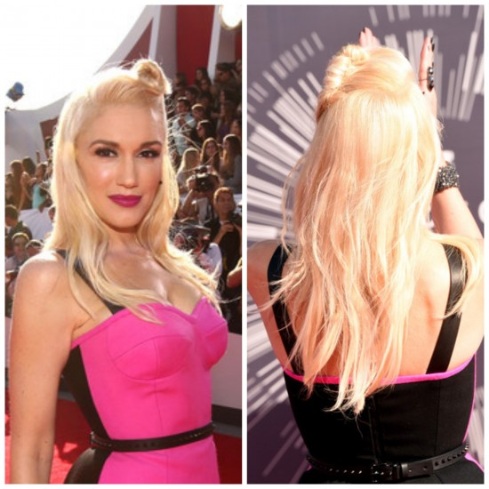 Gwen Stefani en la gala de los MTV Video Awards 2014