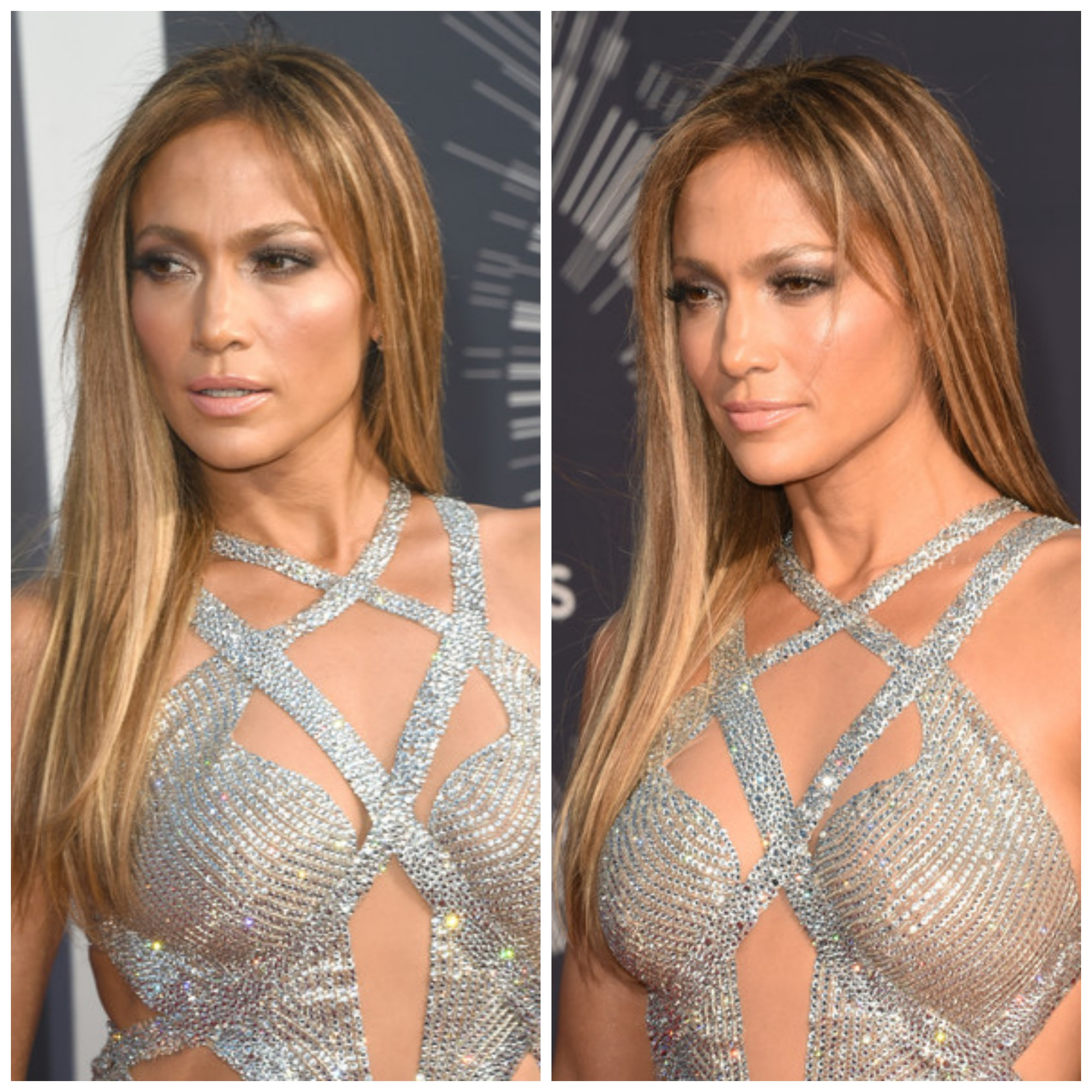 Jennifer Lopez en la gala de los MTV Video Awards 2014