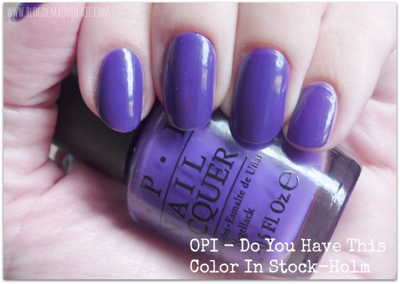 Do you have this color in Stock-holm - OPI