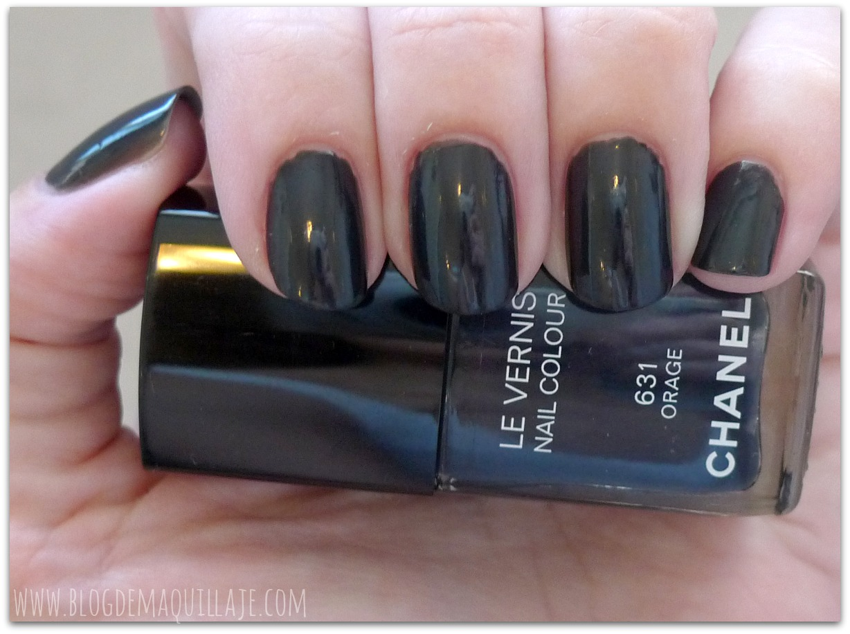 Esmaltes de uñas Chanel - Secret y Orage -