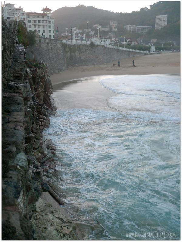 Vistas de la Playa de Ondarreta