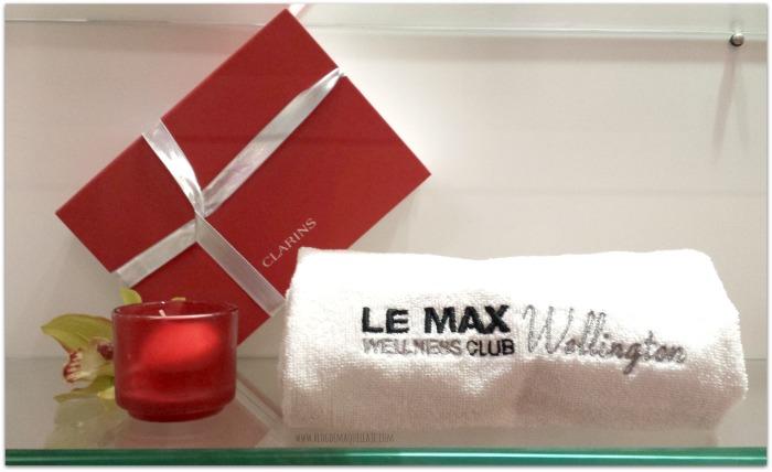 En Le Max Welness Club trabajan exclusivamente con productos Clarins