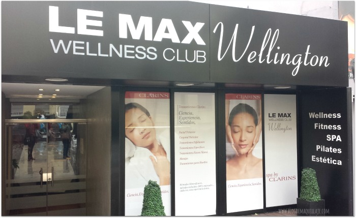 Entrada de Le Max Wellness Club del Hotel Wellington