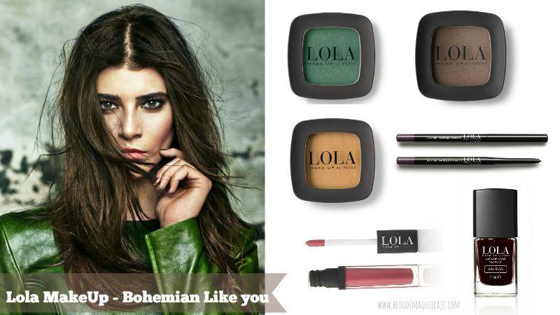 Look Mystics Muse de la colección Bohemian Like You de Lola Make Up para otoño 2015