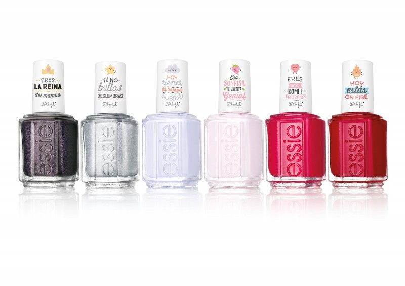 Essie y Mr Wonderful crean los esmaltes de uñas molones -