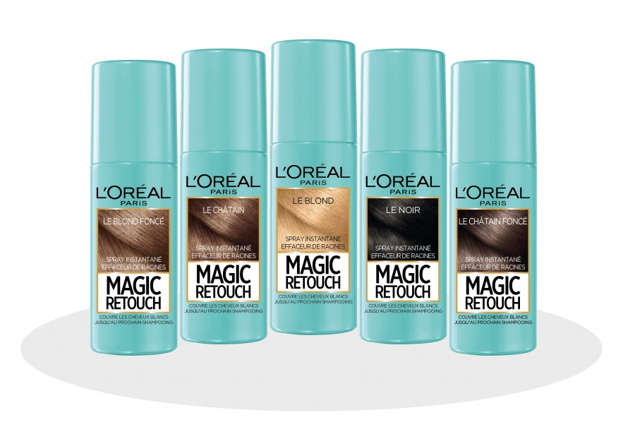 Magic Retouch, el spray para cubrir las canas de L'Oréal Paris