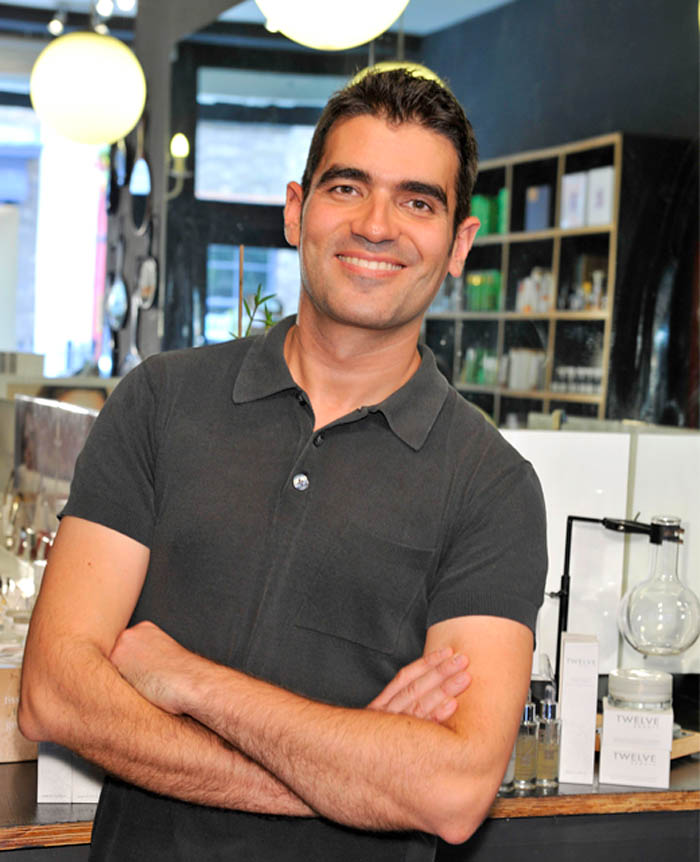 Pedro Catalá, fundador de Twelve Beauty y de la cosmética personalizada Made to Measure