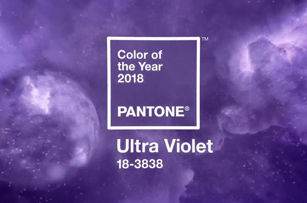Ultra Violet, el color del año 2018