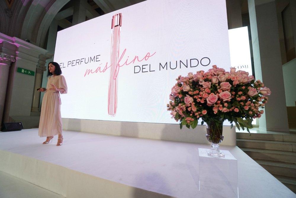Presentación del perfume Idôle de Lancôme en Barcelona