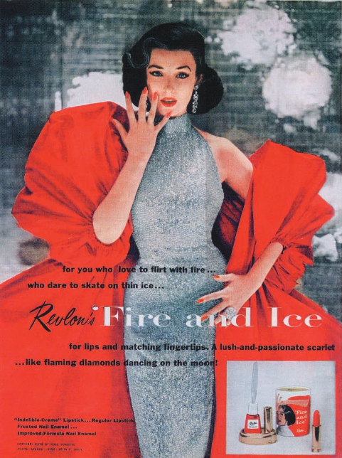 Revlon campaña Fire and ice