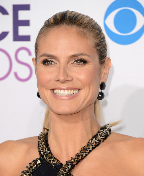 Heidi Klum en los People's Choice Awards 2013