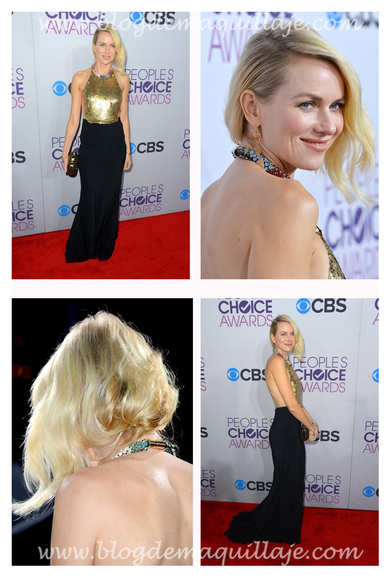 La actriz Naomi Watts en la gala de los People's Choice Awards de 2013.