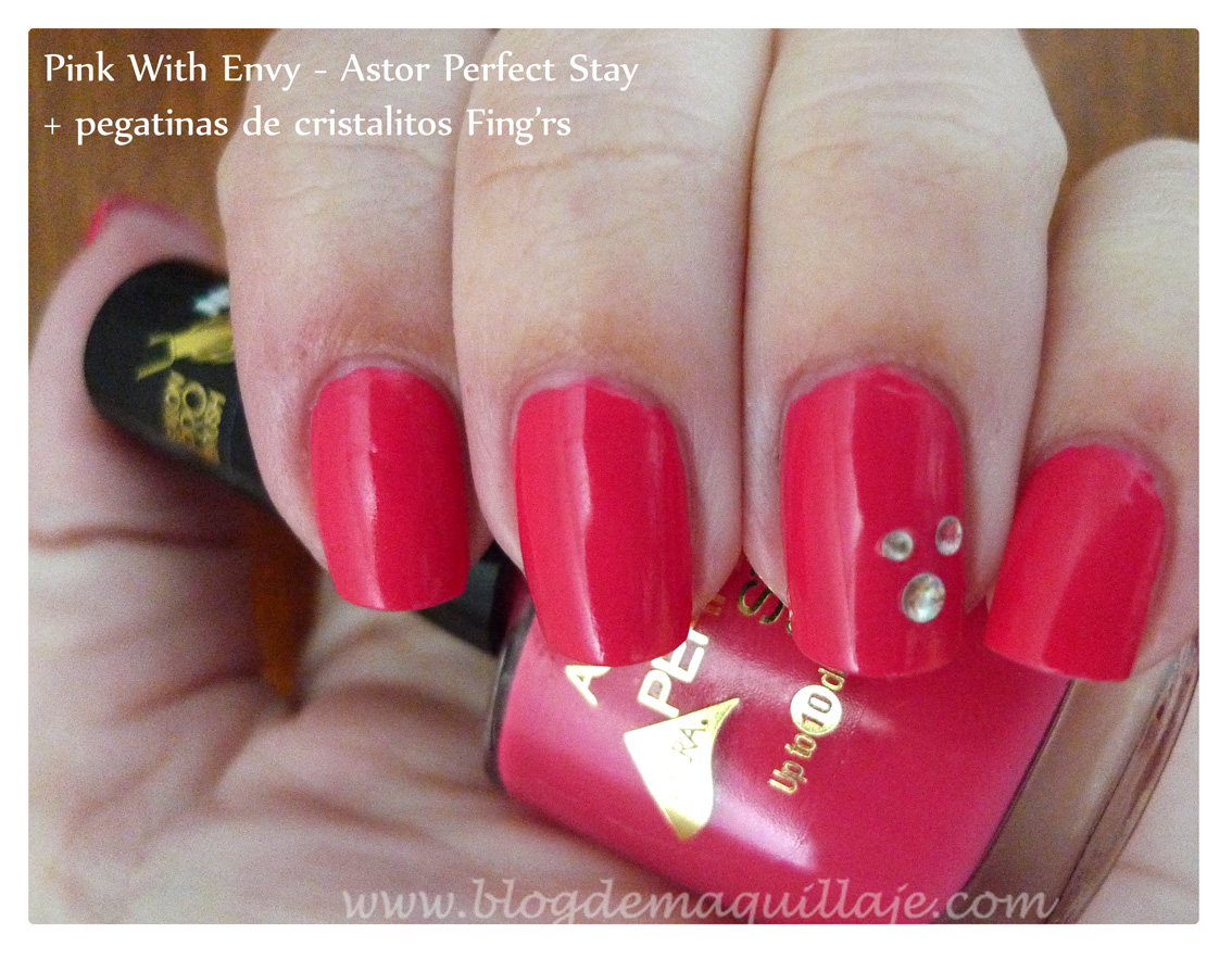 Tono Pink With Envy de los nuevos Perfect Stay Gel Shine de Astor