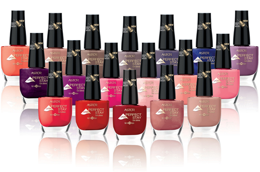 Lacas de uñas Perfect Stay Gel Shine de Astor