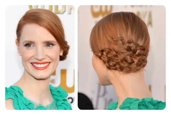 Jessica Chastain en los Critics' Choice Awards