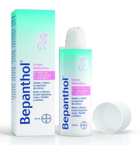Crema antiestrías Bepanthol de Bayer