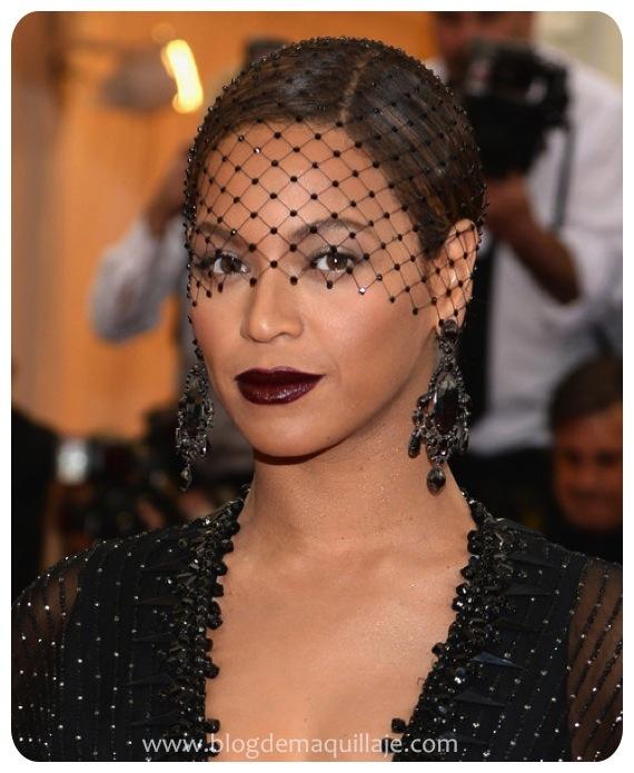 Beyoncé en la gala MET 2014