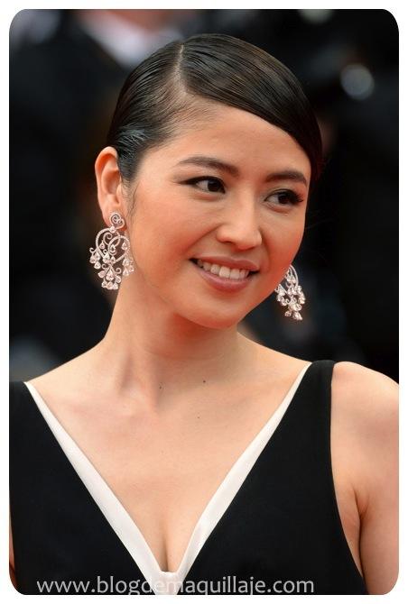 Bellísima Masami Nagasawa maquillada con productos Dior.